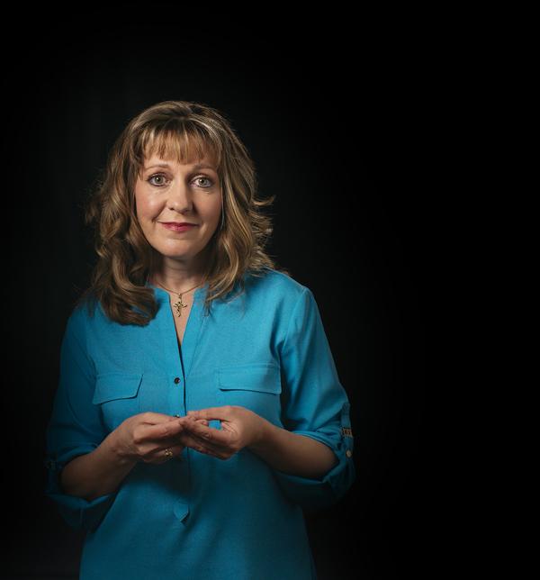 Julie Fitzgerald Ryan as Christine Photo