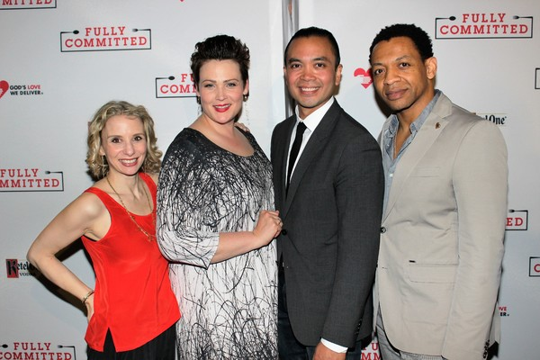 Sarah Saltzberg, Lisa Howard, Jose Llana and Derrick Baskin