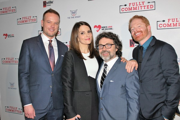 Jason Moore, Tina Fey, Jeff Richmond and Jesse Tyler Ferguson