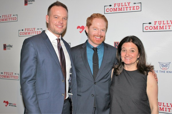 Jason Moore, Jesse Tyler Ferguson and Becky Mode