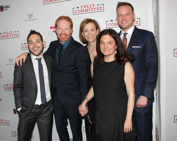 Patrick Catullo, Jesse Tyler Ferguson, Barbara Whitman, Becky Mode and Jason Moore
