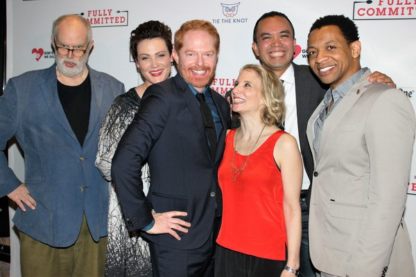William Finn, Lisa Howard, Jesse Tyler Ferguson, Sarah Saltzberg, Jose Llana and Derrick Baskin