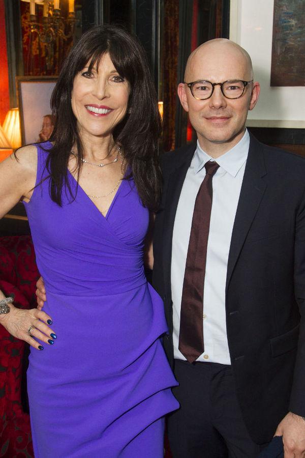 Catherine Schreiber and Daniel Evans