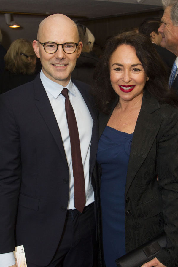 Daniel Evans and Samantha Spiro