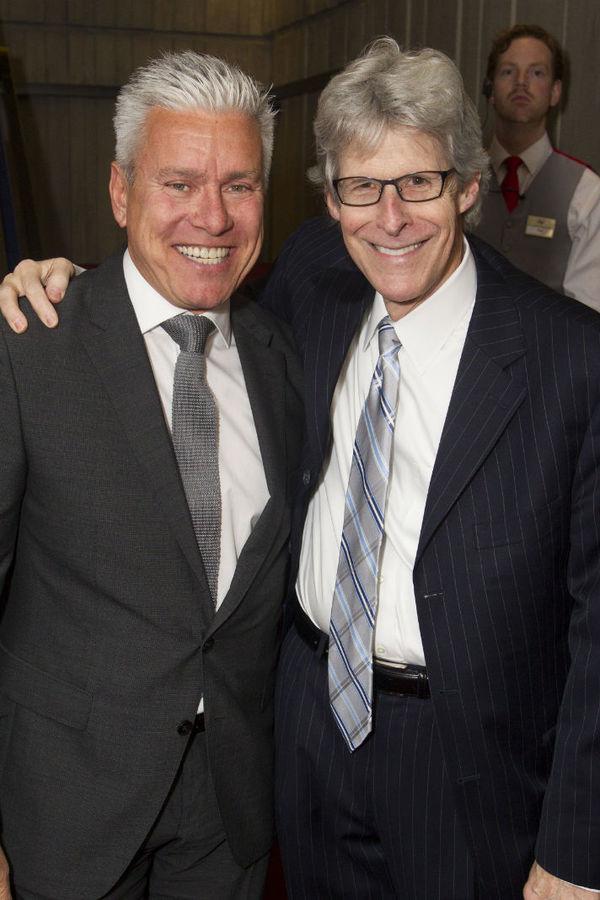 David Ian and Ted Chapin