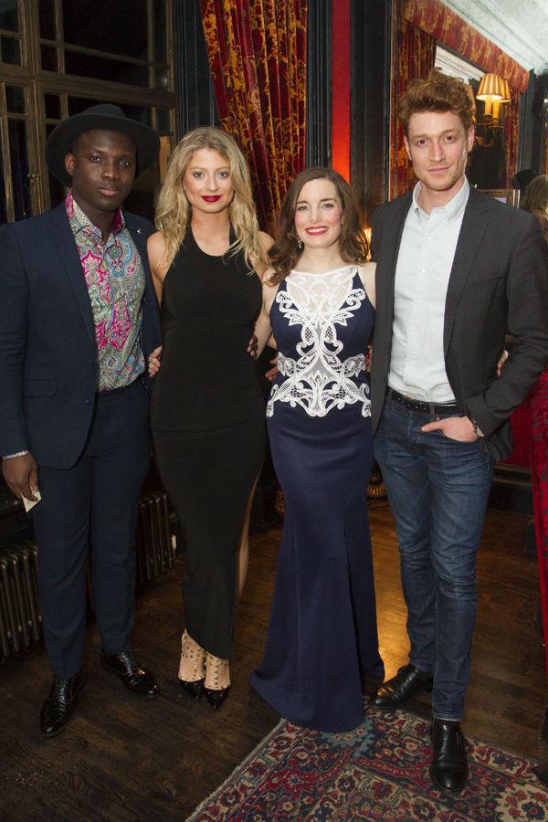 Emmanuel Kojo, Elisha Slater, Rebecca Trehearn and Daniel Donskoy Photo