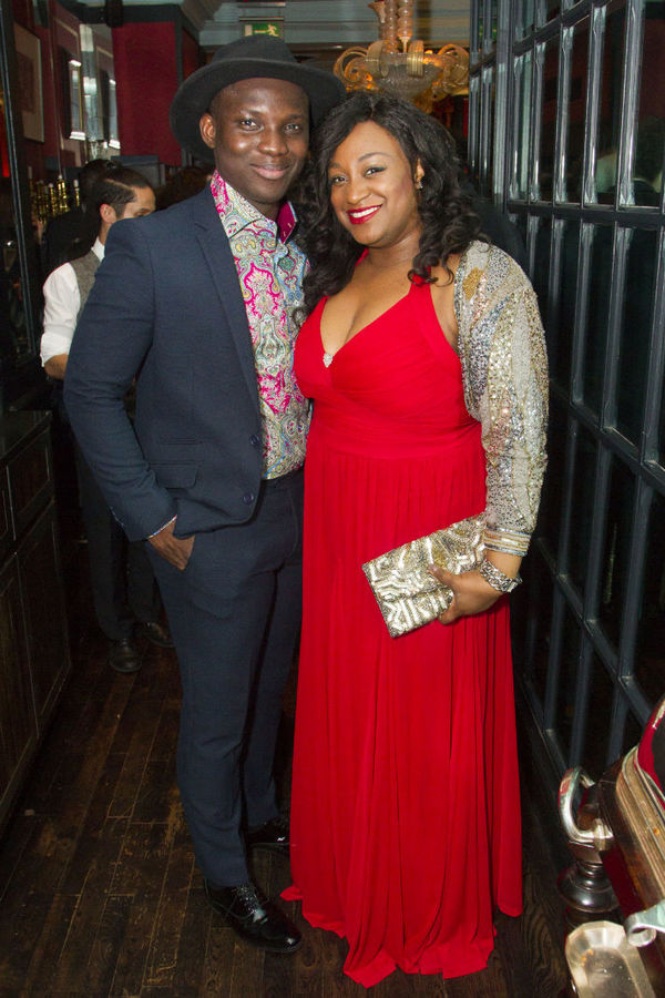 Emmanuel Kojo and Sandra Marvin