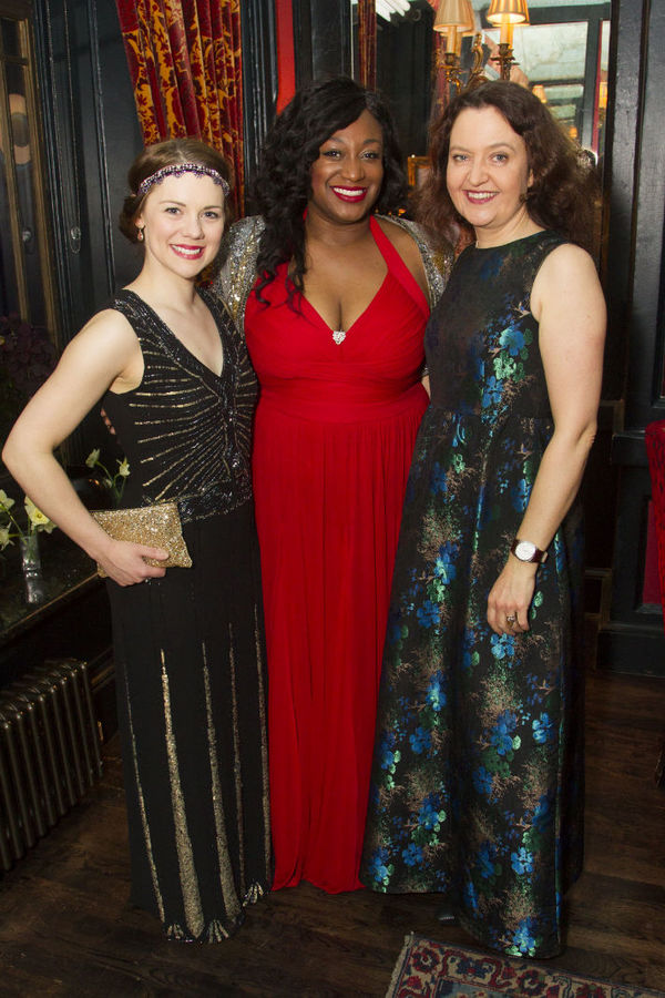 Gina Beck, Sandra Marvin and Lucy Briers