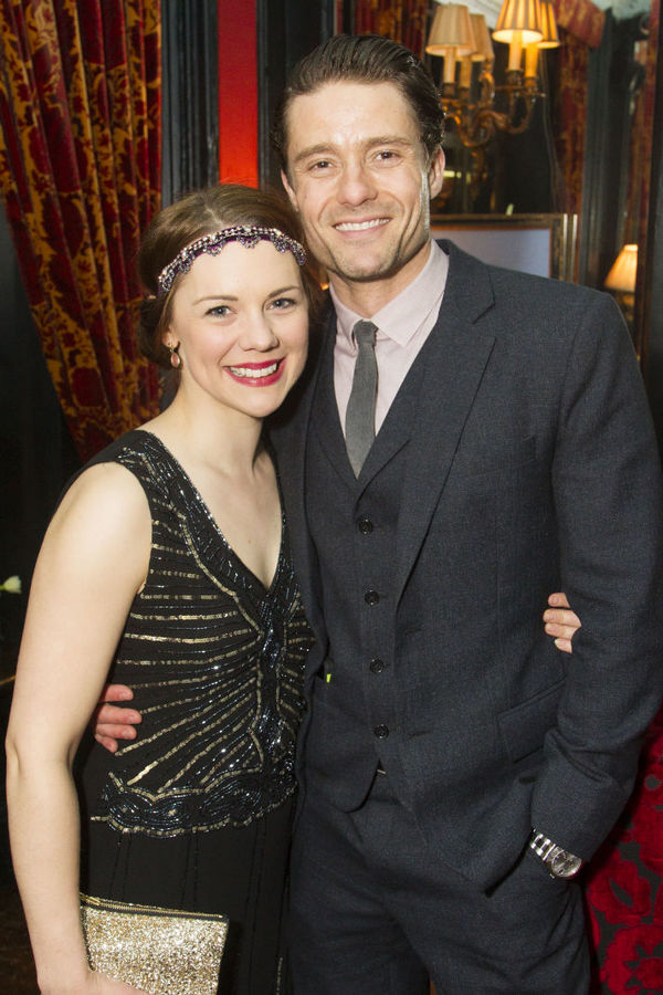 Gina Beck and Ben Freeman