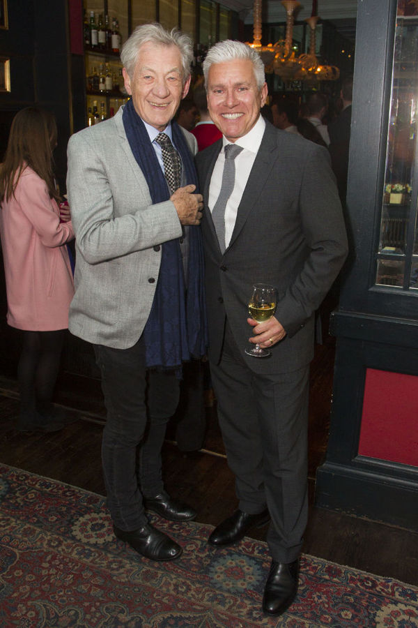 Ian McKellen and David Ian Photo