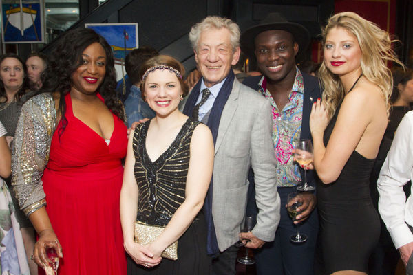 Photo Flash: First Look at Opening Night of West End's SHOW BOAT - Andrew Lloyd Webber, Ian McKellen and More!