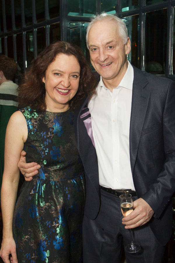 Lucy Briers and Malcolm Sinclair