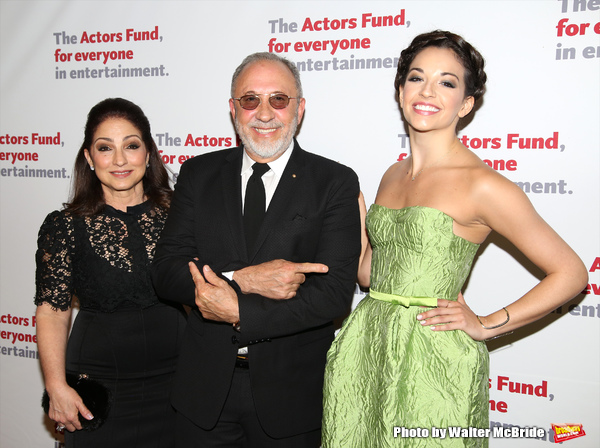 Gloria Estefan, Emilio Estefan and Ana Villafane