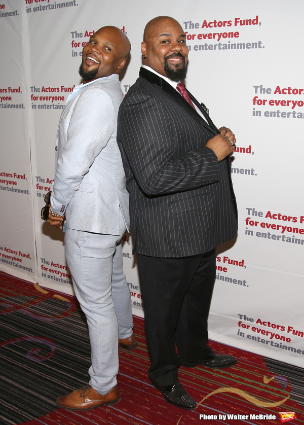 Michael James Scott and James Monroe Iglehart
