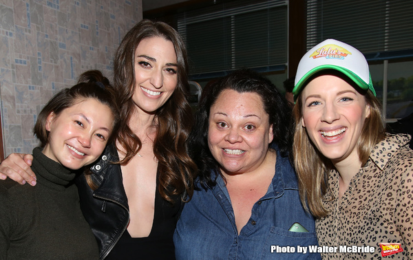 Kimiko Glenn, Sara Bareilles, Keala Settle and Jessie Mueller