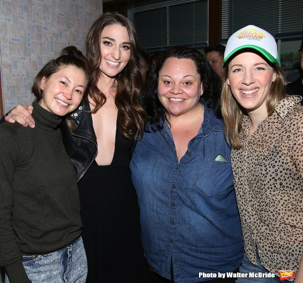Kimiko Glenn, Sara Bareilles, Keala Settle and Jessie Mueller d