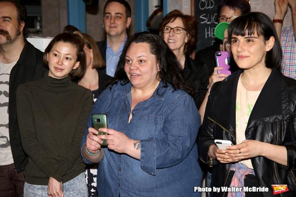 Kimiko Glenn, Keala Settle and Molly Hager