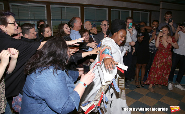 Exclusive Photo Coverage: Inside the WAITRESS Gypsy Robe Ceremony!