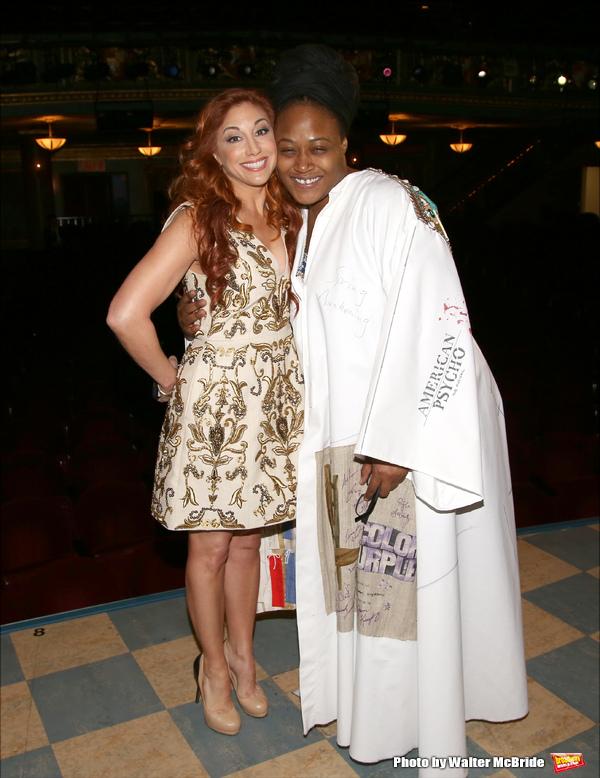 Lorin Latarro and Charity Angel Dawson
