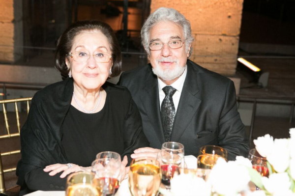 Marta Domingo, Placido Domingo