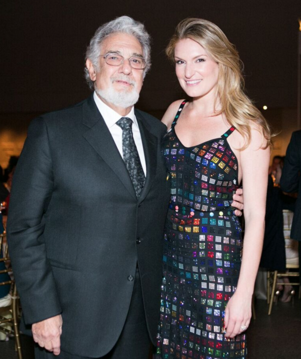 Placido Domingo, Sarah Arison