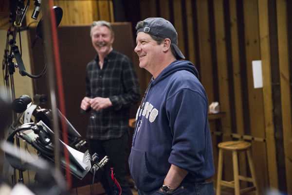 Photo Flash: In the Recording Studio with the Cast of SHE LOVES ME!