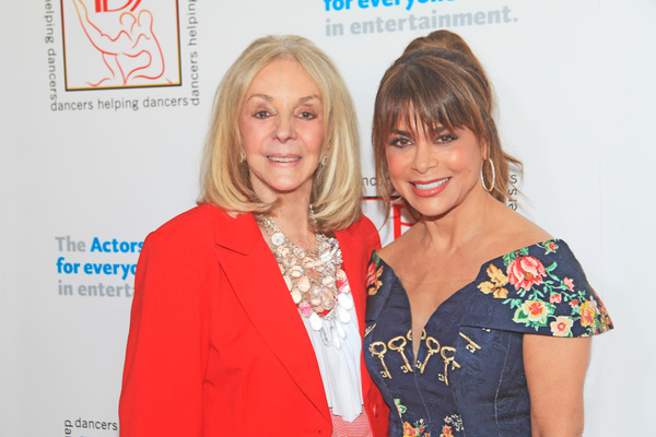 Joni Berry and Paula Abdul