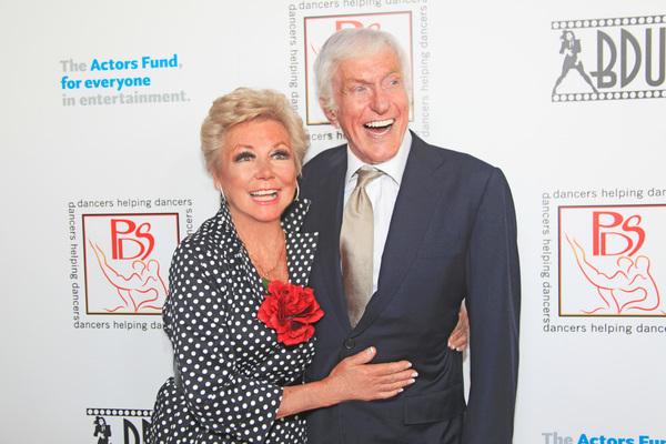 Mitzi Gaynor and Dick Van Dyke