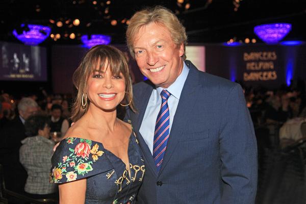 Paula Abdul and Nigel Lythgoe Photo