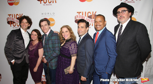 Michael Urie, Rachel Dratch, Paul Rudnick, Claudia Shear, Mario Cantone Jerry Dixon and Alfred Molina