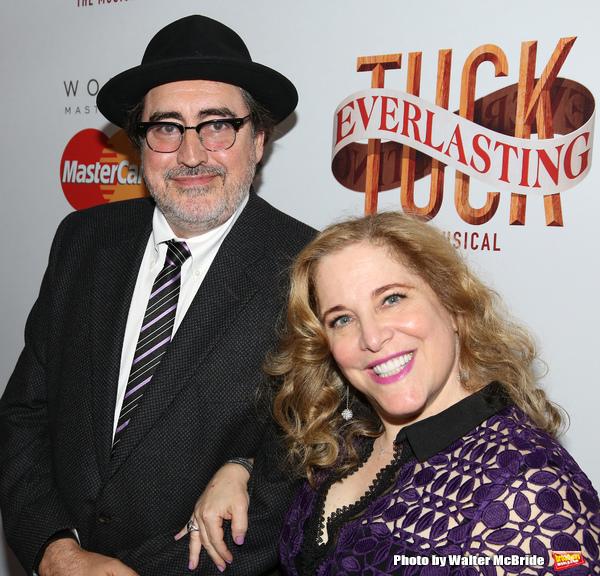 Alfred Molina and Claudia Shear  Photo