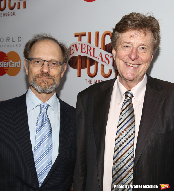 David Hyde Pierce and Brian Hargrove
