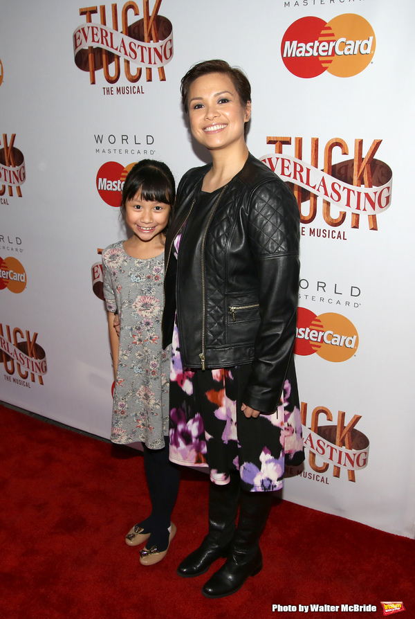 Photo Coverage: On the Opening Night Red Carpet for TUCK EVERLASTING with Lea Salonga, Bernadette Peters & More!