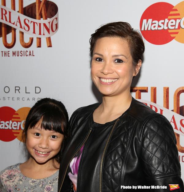 Lea Salonga and daughter