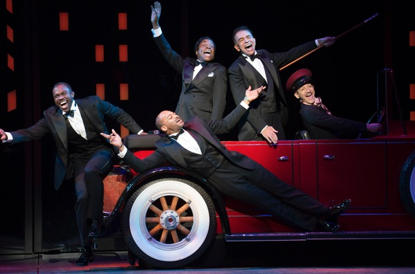 Joshua Henry, Brandon Victor Dixon, Billy Porter, Brian Stokes Mitchell and Richard Riaz Yoder
