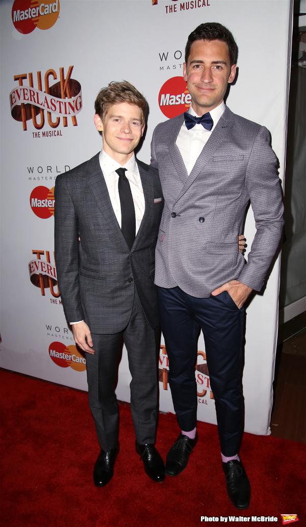 Andrew Keenan-Bolger and Scott Bixby