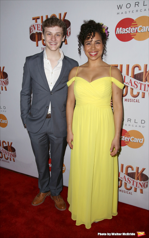 Ben Cook and Chloe Campbell