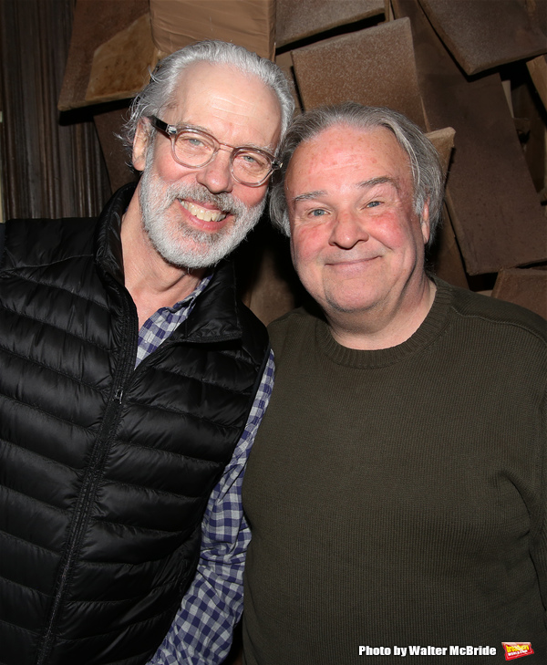 Terrence Mann and Fred Applegate