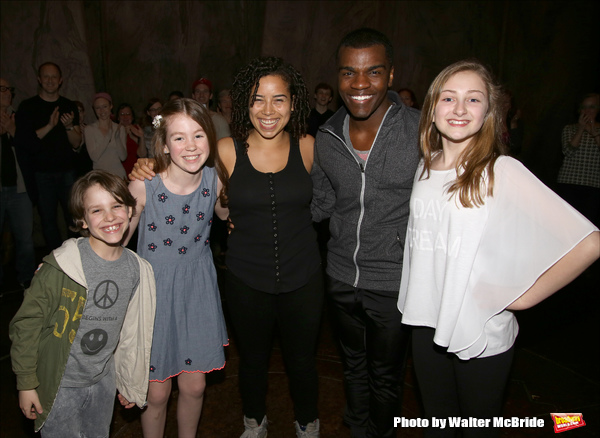 Marco Schittone, Elizabeth Margaret Crawford, Chloe Campbell, Sharrod Williams and Sarah Charles Lewis