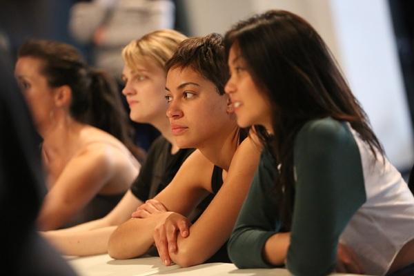 Gayle Rankin, Cush Jumbo, and Teresa Avia Lim