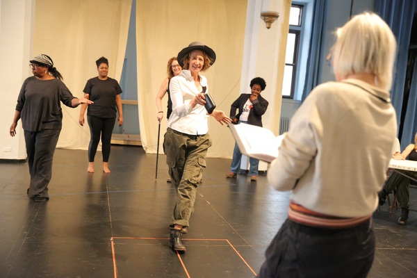 Photo Flash: In Rehearsal with Shakespeare in the Park's All-Female TAMING OF THE SHREW