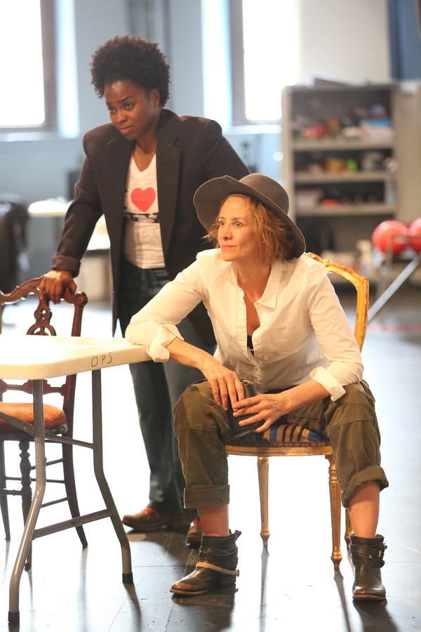 Stacey Sargeant and Janet McTeer