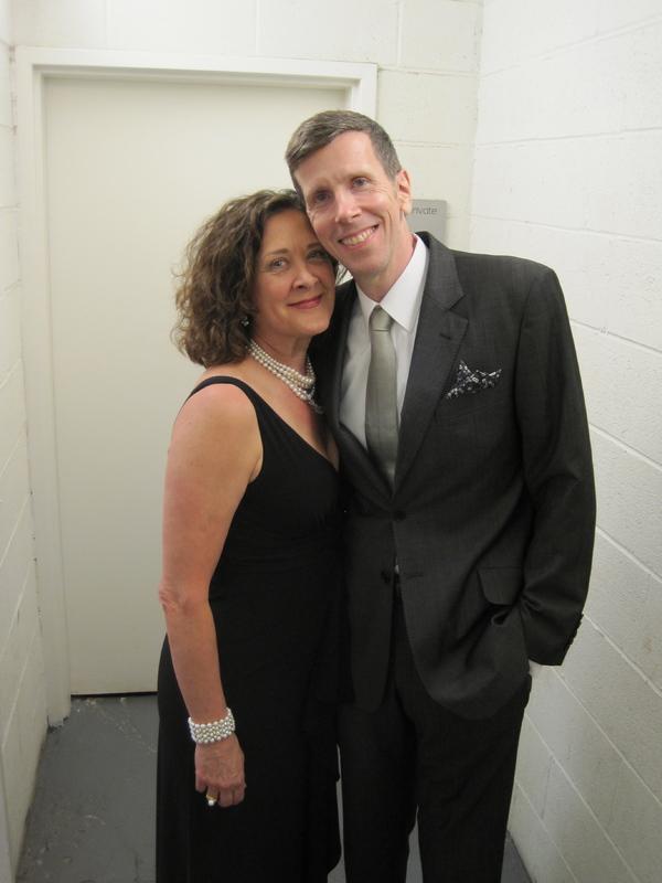 Karen Ziemba and Robert Stanton