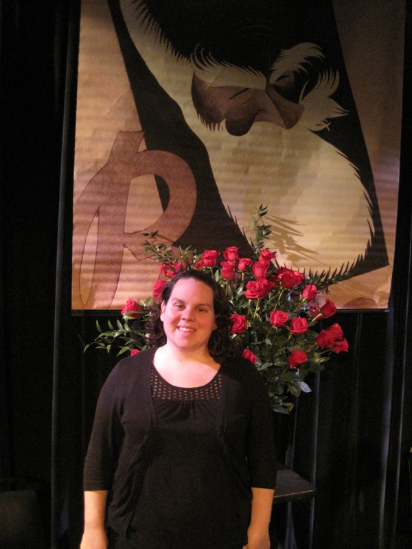 Kristy Bodall, stage manager