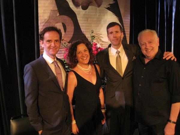 Malcolm Gets, Karen Ziemba, Robert Stanton and Ed Dixon