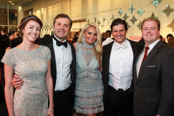 Amanda Evans, Dallas Hall, Lindsay and Eli Price, Chris Daniel Photo