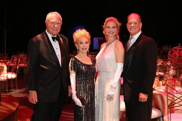 Jim Daniel and Margaret Alkek Williams, Amy and Rob Pierce