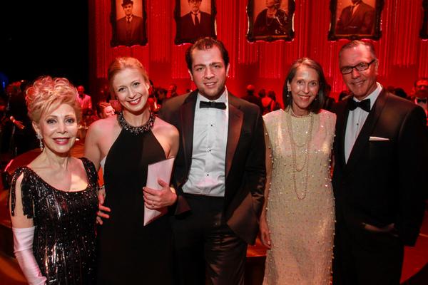 Margaret Alkek Williams, Tatiana Galitzine, Guillermo Smith, Susanne and Bill Pritcha Photo