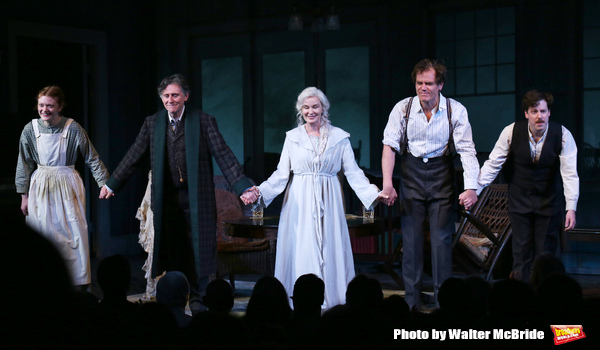 Colby Minifie, Gabriel Byrne, Jessica Lange, Michael Shannon and John Gallagher Jr.
