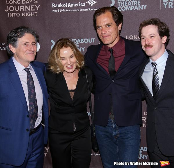 Gabriel Byrne, Jessica Lange, Michael Shannon, and John Gallagher Jr.